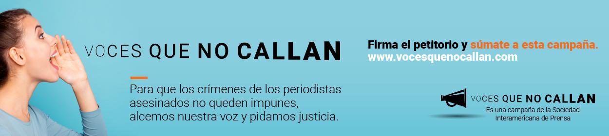 Banner Voces que no Callan