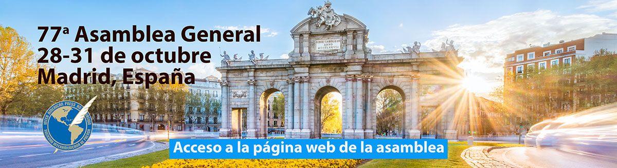 Banner Asamblea Madrid 2021