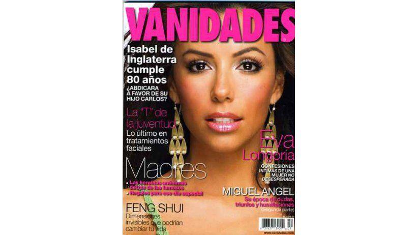 Portada de revista femenina: Amor a primera vista