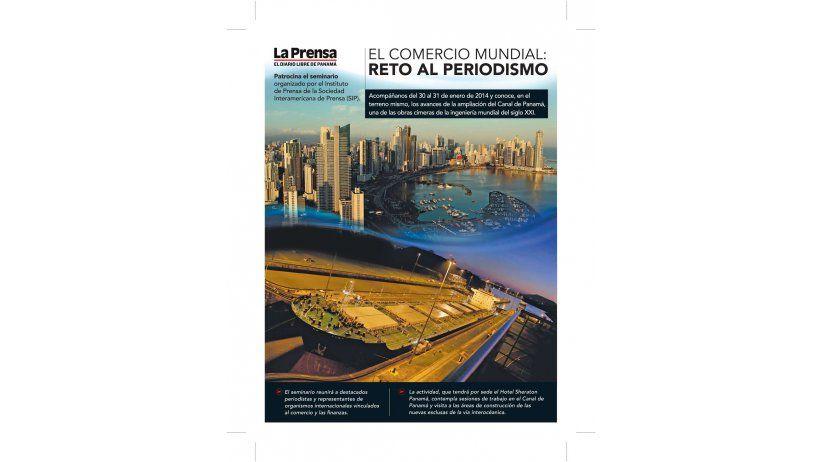 La SIP invita a periodistas a visitar  ampliación del Canal de Panamá