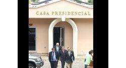 SIP se reunió con presidente de Honduras