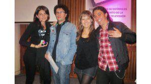 Carlos Millán, Maritza Sánchez y Diana Narváez