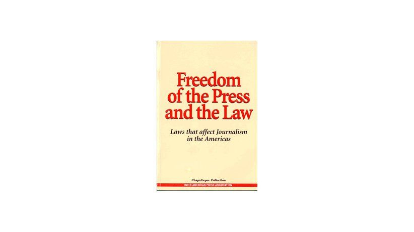 Freedom of Press and the Law