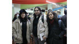 Gerardo Jara, Zubia Asad y Sady Barrios
