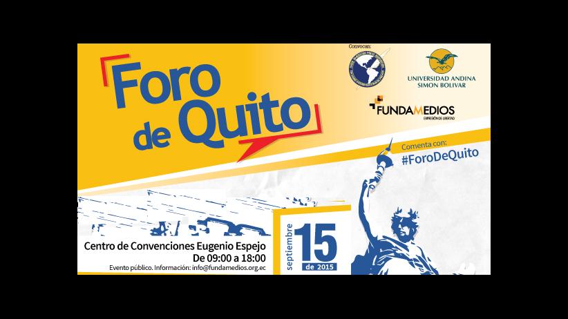 Plan de Acción - Foro de Quito por la Libertad de Expresión