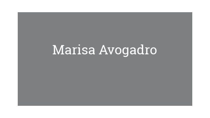 Marisa Avogadro