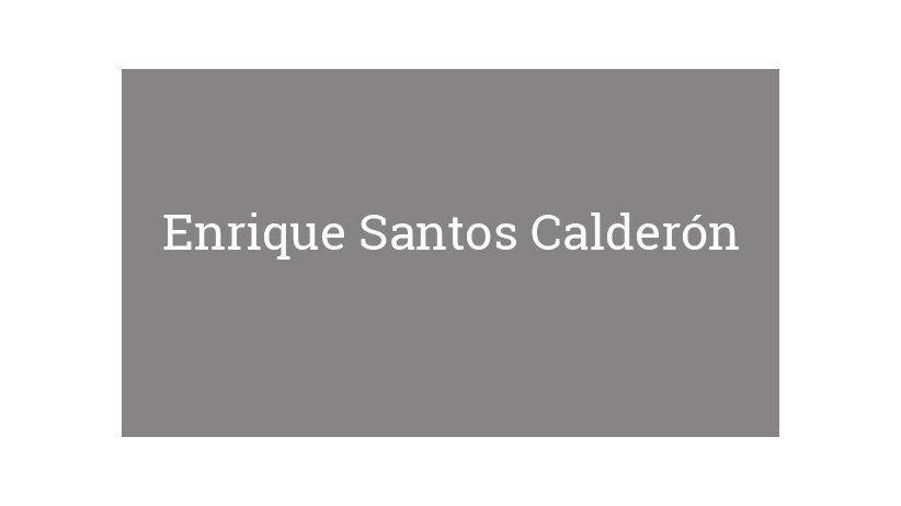Enrique Santos Calderón
