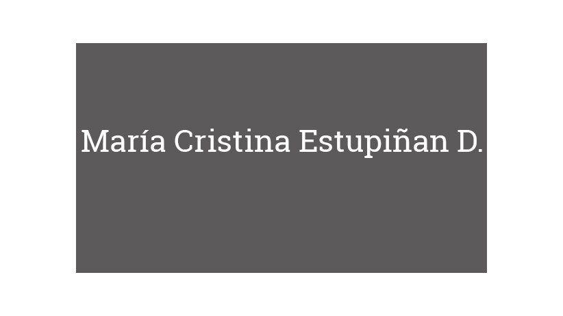 María Cristina Estupiñan D.