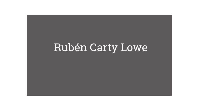Rubén Carty Lowe