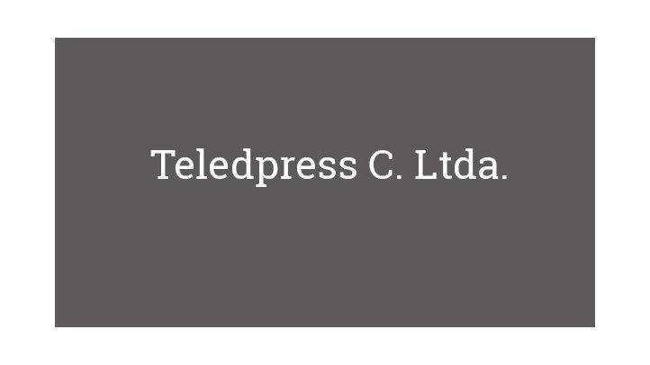 Teledpress C. Ltda.