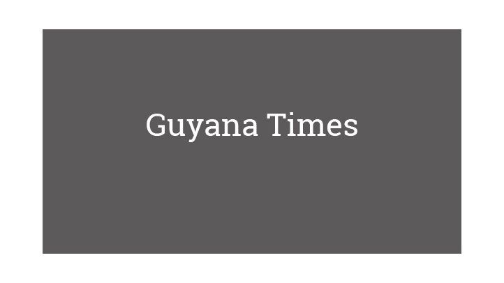 Guyana Times