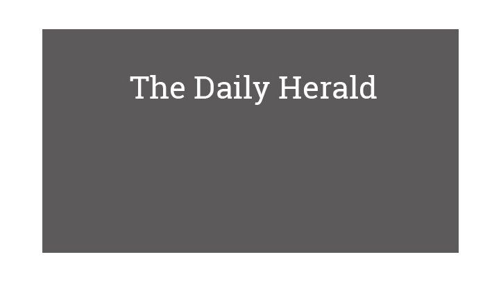 The Daily Herald