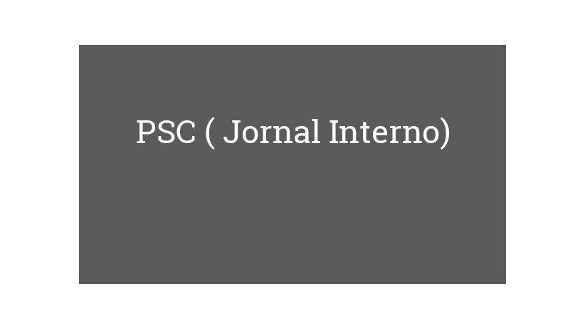PSC ( Jornal Interno)