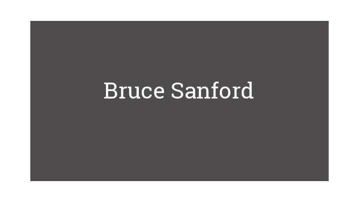 Bruce Sanford