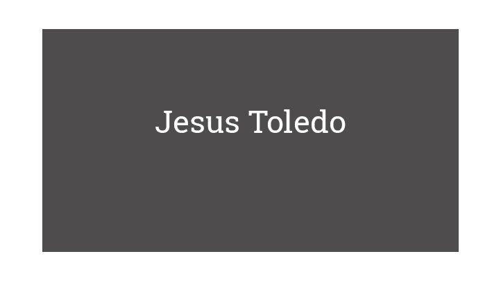 Jesus Toledo