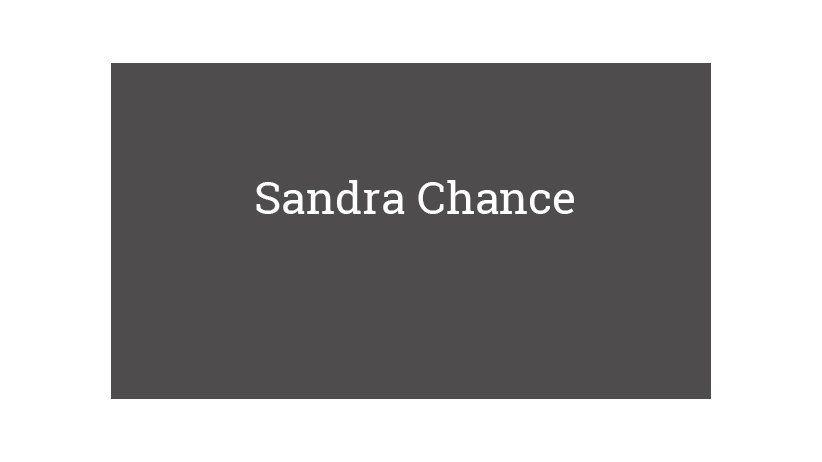 Sandra Chance
