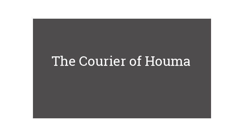 The Courier of Houma