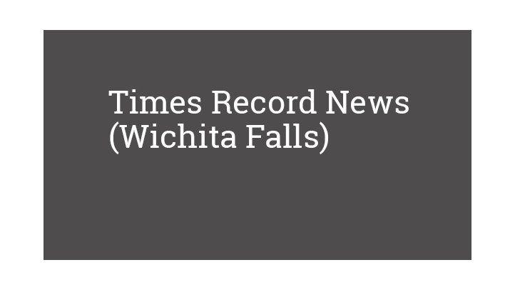 Times Record News (Wichita Falls)