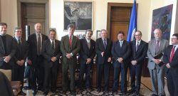 Con el secretario general de la OEA Luis Almagro