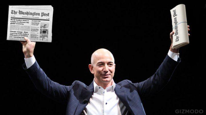Jeff Bezos: Un diario no es una fábrica de papas fritas