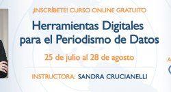 Curso online gratuito de periodismo de datos