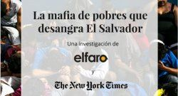 El Faro y The New York Times colaboran en reportaje