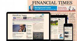 Financial Times: ingresos digitales superan al papel