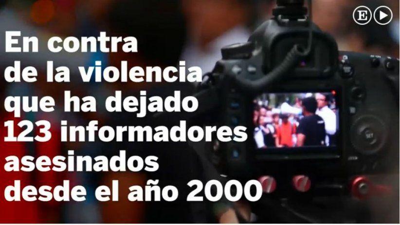 México: Periodistas protestan por asesinatos de colegas