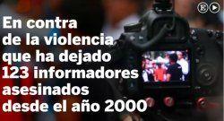 Periodistas mexicanos protestan por asesinatos de colegas
