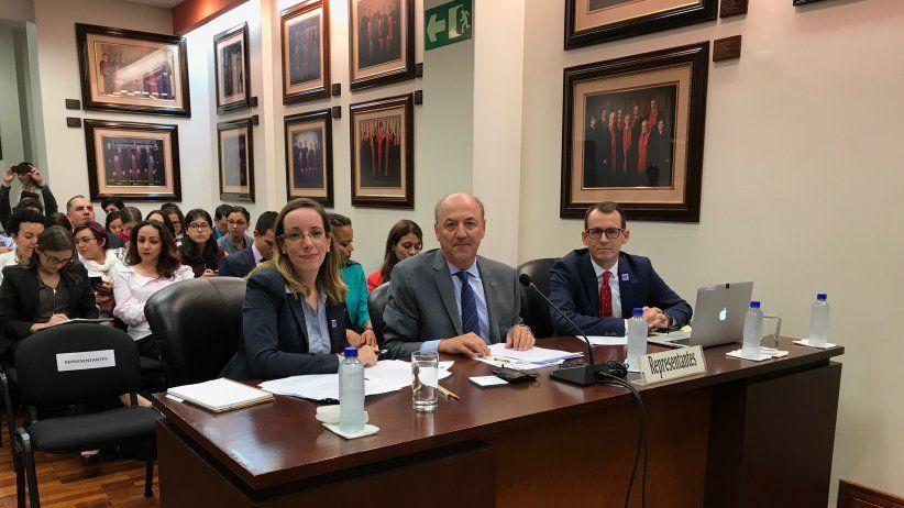 Crónica de la audiencia en la Corte Interamericana sobre el caso Nelson Carvajal