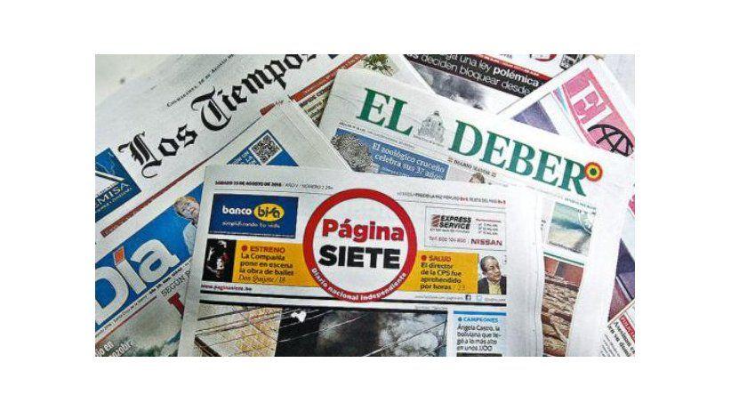 Bolivia: La SIP preocupada por posible nuevo delito de prensa
