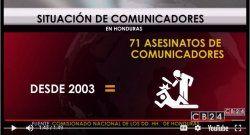 Piden compromiso político para proteger a periodistas hondureños