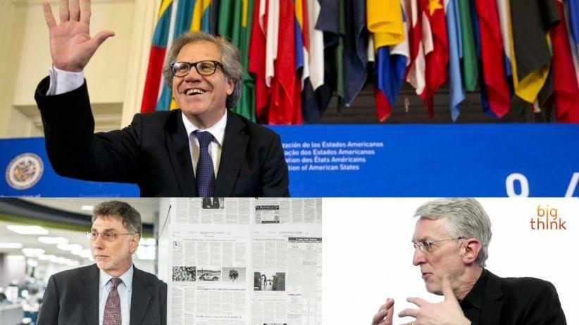 Personalidades de la prensa estadounidense en asamblea de la SIP