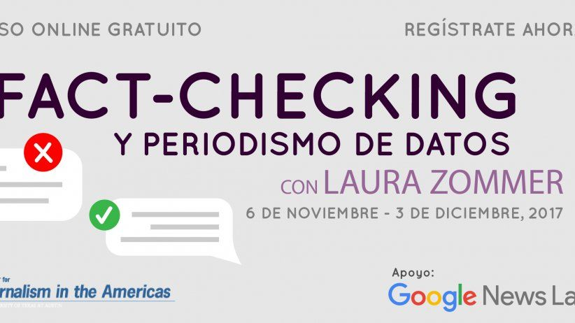 Curso Fact-checking y periodismo de datos