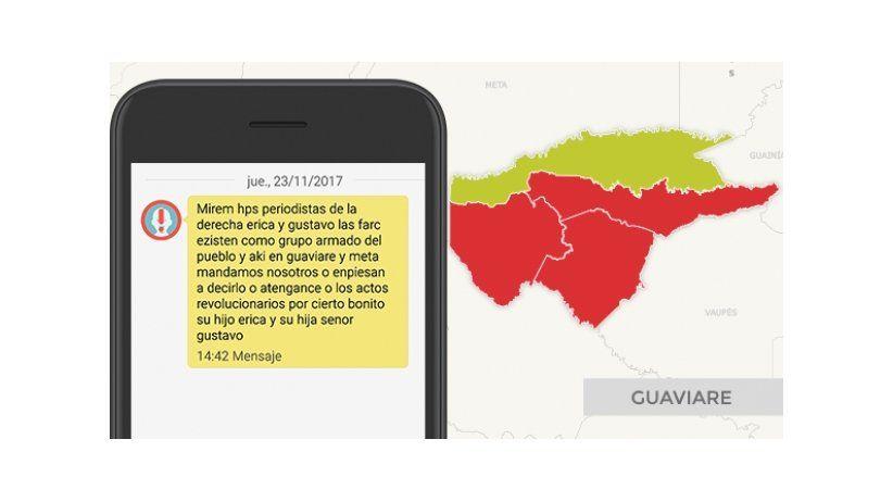 FLIP denuncia amenazas contra periodistas en Colombia