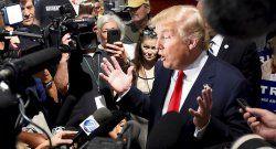 Trump líder en debilitamiento de la libertad de prensa