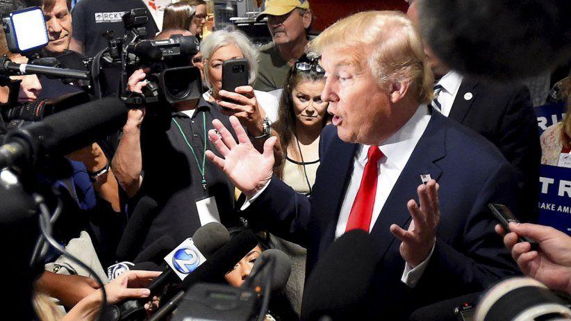 CPJ: Trump líder mundial en debilitamiento de la libertad de prensa