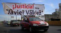 México - protesta por Javier Valdez