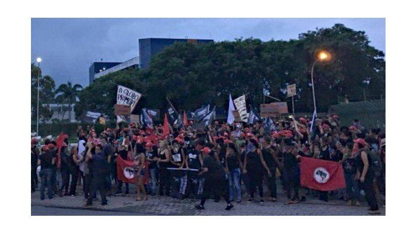La SIP repudia invasión de instalaciones de O Globo en Brasil