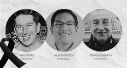 Reacción de la SIP ante el asesinato de los tres colegas ecuatorianos