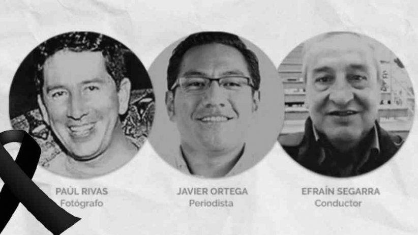 Reacción de la SIP ante el asesinato de los tres colegas ecuatorianos.