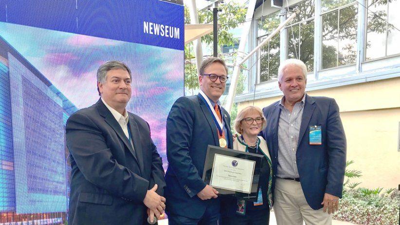 Newseum recibe Gran Premio Chapultepec 2018
