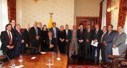 Histórico encuentro de la SIP con el presidente de Ecuador, Lenín Moreno