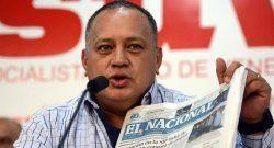 Diosdado Cabello obliga a pagar a El Nacional una demanda por daño moral