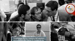 Recuperan cuerpos de periodistas ecuatorianos asesinados