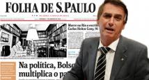 Brasil - Bolsonaro y Folha de S. Paulo