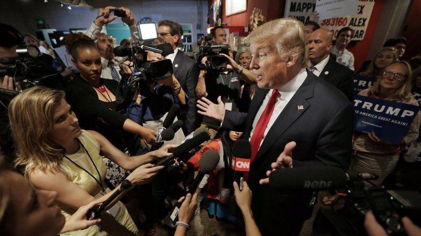 Informe SIP: Se agudiza el enfrentamiento entre Trump y la prensa