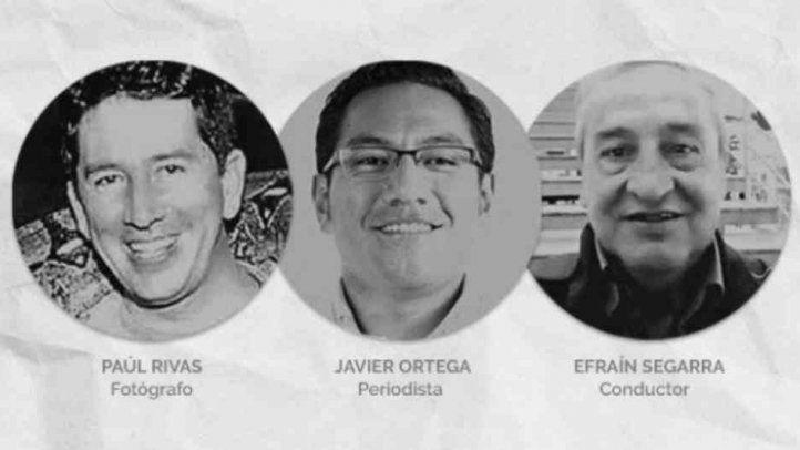 La SIP pide a gobiernos de Ecuador y Colombia esclarecer de forma total los asesinatos de tres periodistas