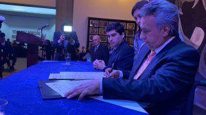 Presidente de Ecuador firmó la Declaración de Chapultepec y reafirma su compromiso con la libertad de prensa