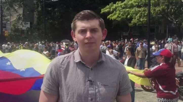La SIP condenó la detención de un periodista de EE.UU. y su ayudante en Venezuela